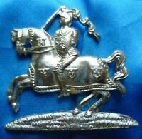 Staybrite Fife and Forfar Yeomanry Regiment Cap Badge Anodised