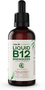 Yoga Nutrition Liquid Vitamin B12 ENERGIZER - 50ml - Methylcobalamin - Vegan