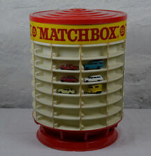 Vintage old Lesney Matchbox Display Case 55 cent car truck bus