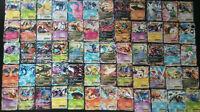 POKEMON 100 CARD LOT - HOLOS, RARES, GUARANTEED EX / GX + BOOSTER CODE CARDS!