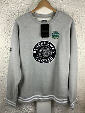 NHL Chicago Blackhawks 2019 Winter Classic Sweatshirt NWT Gray Sz Large