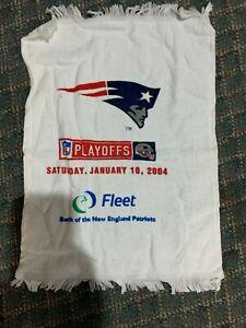 NE Patriots 2004 Playoff Rally Towel