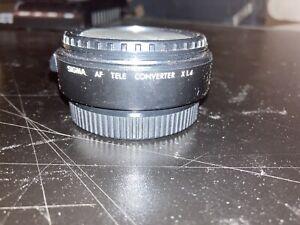 Sigma AF Teleconverter X1.4 Minolta Fit