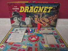 Vintage 1955 Dragnet Badge 714 99% Complete Board Game Transogram Missing 1 Cap