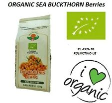 100g Organic Sea Buckthorn Berry / rokitnik owoce suszone EKO 100g