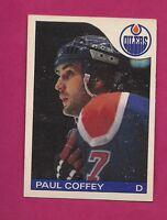1985-86 OPC  # 85 OILERS PAUL COFFEY EX-MT CARD (INV# A2256)