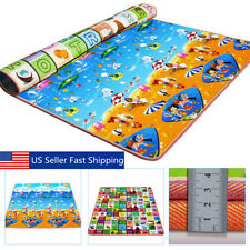 Baby Toddler Crawl Mat Reversible Waterproof Non-Slip Floor Play Mat Carpet ADF