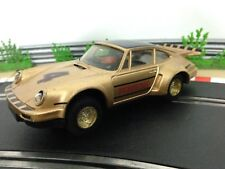 Scalextric Car Porsche Turbo 935 / 911 Gold No4 C289 With Working Lights