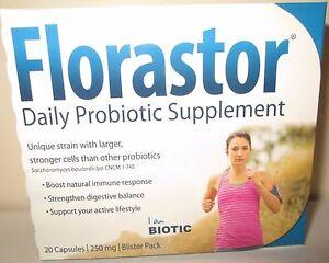 Florastor Maximum Strength 250 mg Capsules - 20 Each