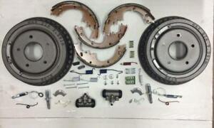 Toyota Corolla 2003-2008 rear brake rebuild kit w/ hardware cylinders & drums