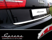 Audi A6 C7 Tipo 4g Avant Cromo Modanatura 3M Messa Punto Barra Posteriore