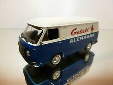ATLAS FIAT 238 GELATI ALAMAGNA - BLUE + WHITE 1:43 - EXCELLENT CONDITION 38