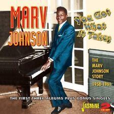 Marv Johnson - You Got What It Takes: Marv Johnson Story 1958-61 [New CD] UK - I