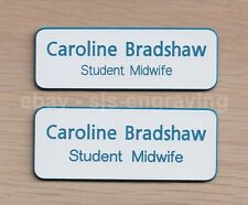 Quality Engraved STUDENT MIDWIFE name badge - Personalised - Choice of size