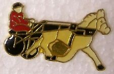Hat Lapel Pin Scarf Clasp Animal Horse Silky Raciing NEW