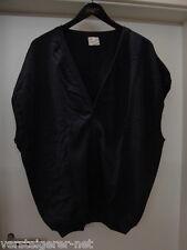 Baumwollweste dunkelblau, Clinic+Job Dress, neue Weste Größe 54, 100% Baumwolle