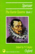 """VERY GOOD"" The Faerie Queene. Book 1: Bk. 1, Spenser, Edmund, Book"