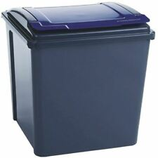 Vfm Grey/Blue Recycling Bin Lid 384290 - SBY28525