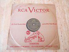 "78 RPM ""THE GLOW-WORM/HAWAIIAN WAR CHANT"" SPIKE JONES/CITY SLICKERS1946"