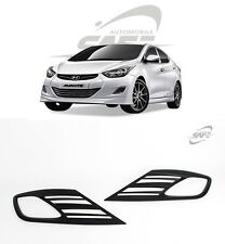 SAFE Fog Lamp Molding Black Matt 2Pcs For Hyundai Elantra Avante MD 2011 2013