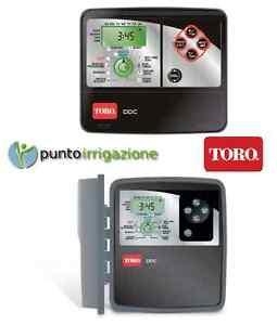 Programador Unidad de Control Riego Toro Serie Ddc Todos Modelos 4/6/8 Zone