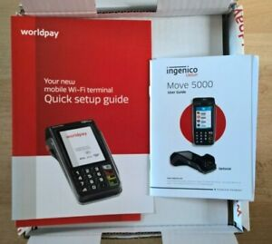 Ingenico Move 5000 Mobile Wi-Fi Terminal