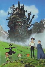 Howls Moving Castle Poster Print T620 |A4 A3 A2 A1 A0|