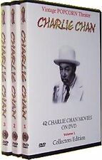 42 CHARLIE CHAN MOVIES on 14 DVD's + Bonus OTR - NEW Sealed - Great Gift