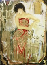 "JANET TREBY ""RED DRESS"" 