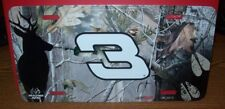DALE EARNHARDT SR #3 CAMO R&R METAL LICENSE PLATE NEW!!!!!!