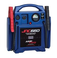 Clore Jump-N-Carry Jump Starter 1700 Peak Amp 12 Volt Battery Charger DC Outlet