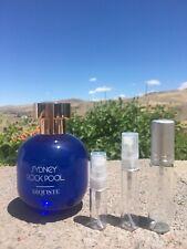3mL, 5mL 10mL SAMPLE of ARQUISTE SYDNEY ROCK POOL Niche COCONUT BEACH Fragrance