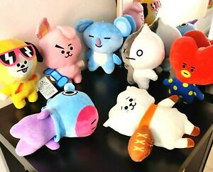 BTS / BT21, Among Us, One Piece, Demon Slayer, Pokemon Plushies(Brisbane stock)