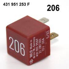 Relais Nr. 206 431951253F VW Passat Golf Beetle Audi A4 A6  - 12V 20A
