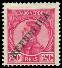 """CAPE VERDE 103 (M104) - King Manuel II """"Republica"""" (pa74892)"""