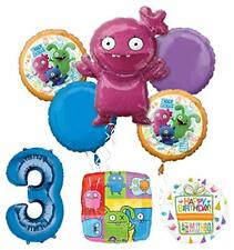 Mayflower Products Ugly Dolls Party Supplies 3rd Birthday Balloon Bouquet Decor