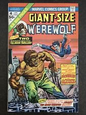 Giant Size Werewolf By Night 4 Morbius 1975 HI GRADE 1OWNER GLOSSY SHARP Movie🔥