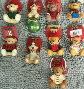 Harrods Resin Bears Dated 2005 to 2020
