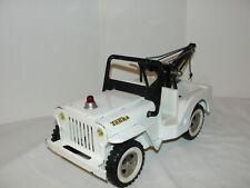VIntage Tonka Jeep AA Wrecker Tow Truck - Original Condition
