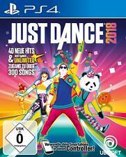 Just Dance 2018 para PlayStation 4 ps4 | mercancía nueva | versión alemana!