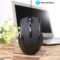W321 Rechargeable Bluetooth Wireless Maus Optisch 1600DPI Mouse Mäuse Dual Mode