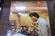 Claudio Abbado conducts Verdi Overtures New Sealed 33 RPM  092416LLE