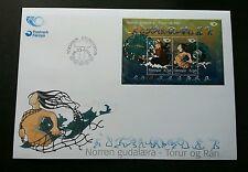 Faroe Islands Nordic Mythical Creatures 2004 Folklore Mythology (FDC)