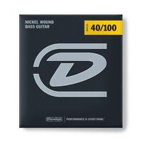 Dunlop DBN40100 Nickel Wound, Light Set/4 per basso elettrico 040-100