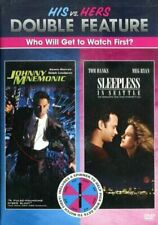 His vs Hers DBL Feature Johnny Mnemonic / Sleepless in Seattle (2-DVD) BRAND NEW