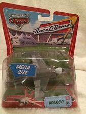 New Disney Pixar Cars Diecast Race O Rama Mega size Marco Fighter Jet #2