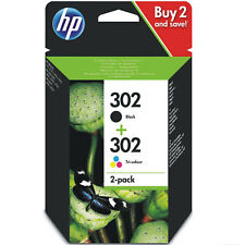 Cartucho HP 302 Pack Negro y Color X4D37AE