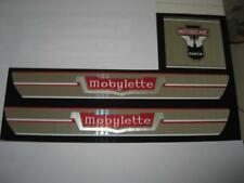 1 LOT DE 3 AUTOCOLLANTS cyclo MOBYLETTE  AV42 (reservoir +potence)