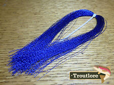 MYLAR CRYSTAL FLASH HANK - DEEP BLUE - NEW FLY TYING MATERIALS