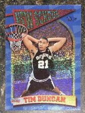 1997 Topps Tim Duncan Rookie New School! 🔥#NS15
